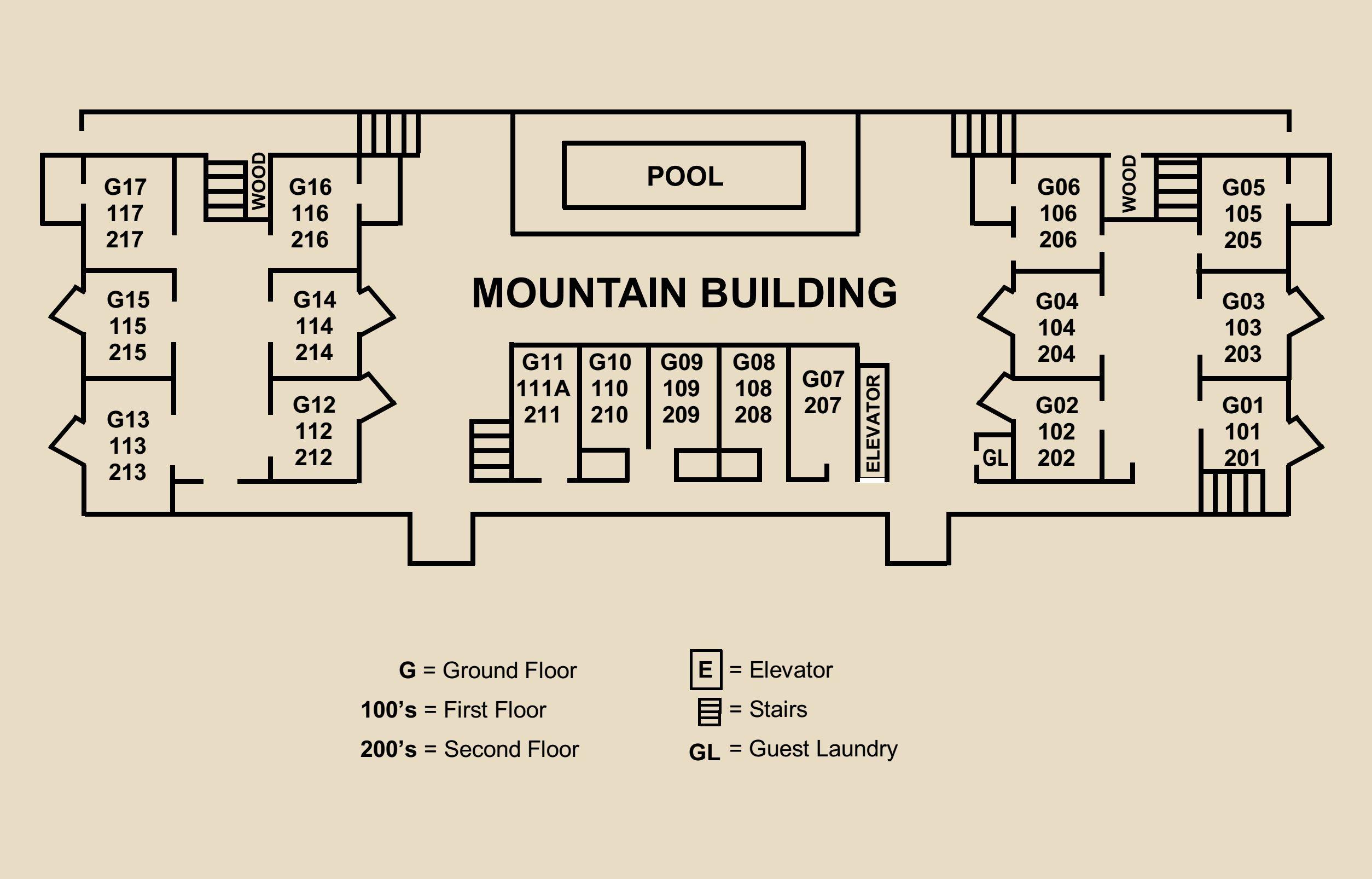 Lifts West Floorplan Mountain Crop 1 Lift Condominiums Elevator Schematic